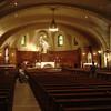 De kleine zaal in de St. Joseph (helaas geen foto van de grote zaal)