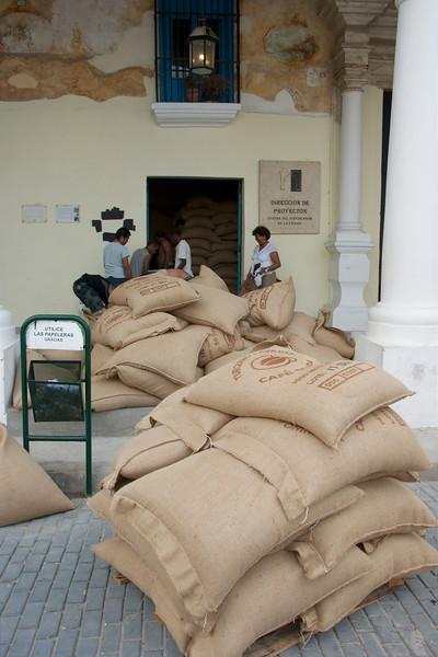 Koffieaanvoer