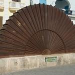 Beeld op Plaza Vieja