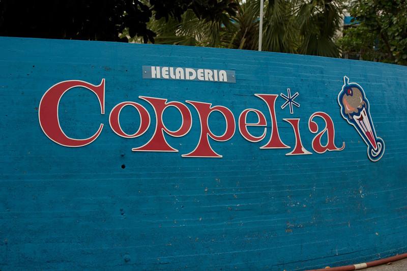 Coppelia, daar waar je ijsjes koopt