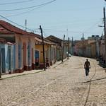 Straat in Trinidad