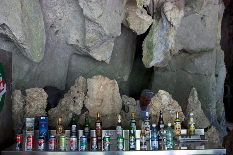 Drank in de grotten