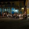 Plaza Vieja in de avond