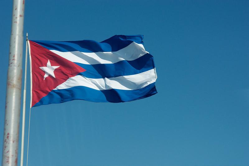 De nationale vlag