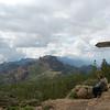 SONY Op Gran Canaria de bergen in