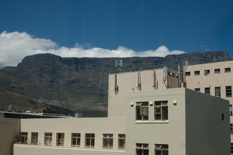 Tafelberg vanuit ons hotel