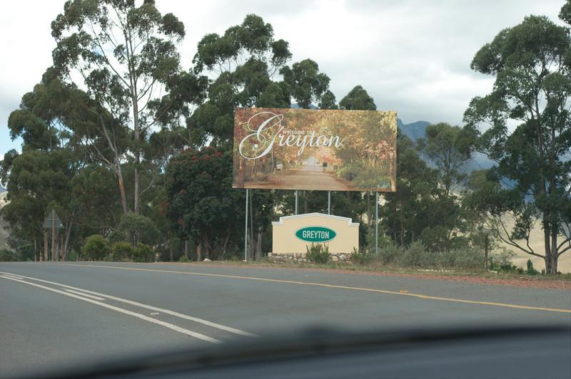 Onderweg naar Greyton