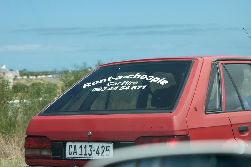 Onderweg naar Kaapstad