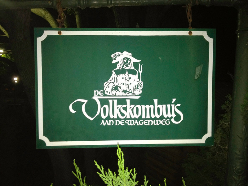 Stellenbosch; hier eten we