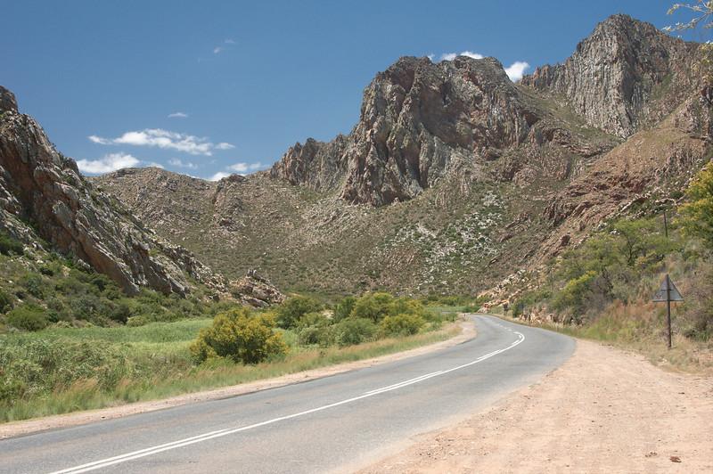 Door de bergen naar Monatagu