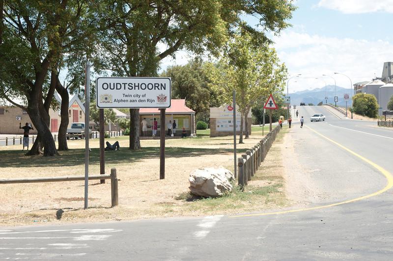 Onderweg naar Oudtshoorn