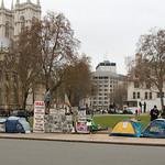 Demonstratie tegen oorlog in Irak en Afghanistan