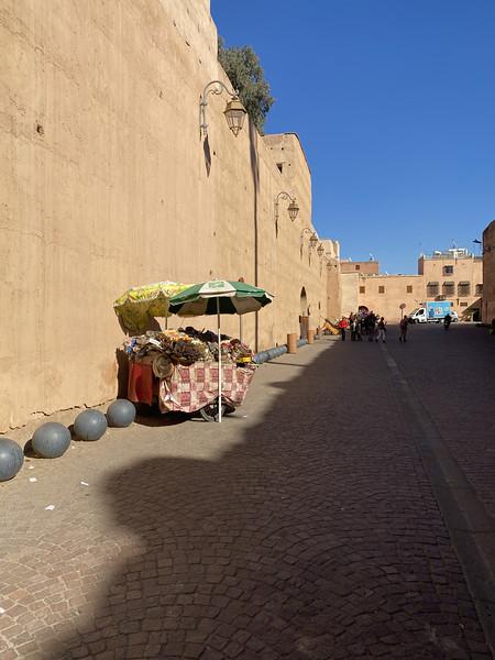 Buitenkant El Badi paleis