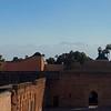 El Badi paleis met Atlas gebergte