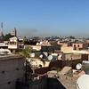 Luchtvervuiling boven de stad