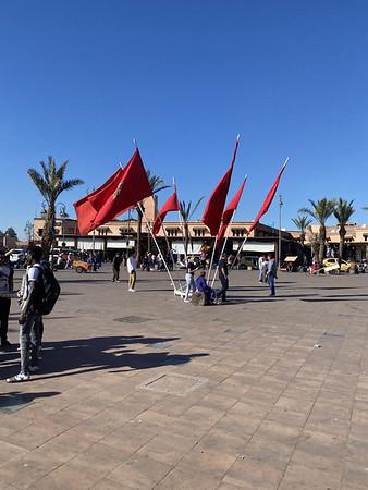 Marrokaanse vlaggen