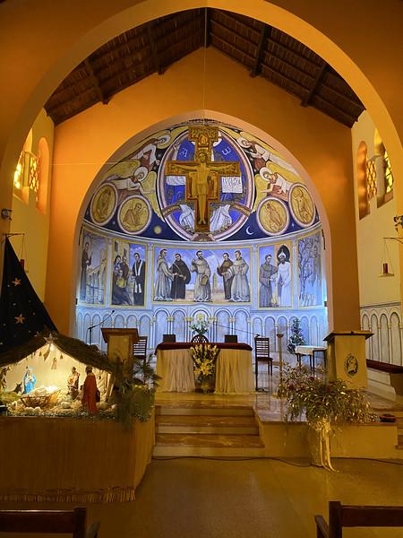 De enige katholieke kerk in de stad