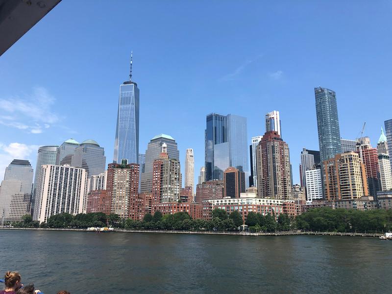 Skyline vanaf rondvaartboot