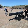 Veel kanonnen in de citadel