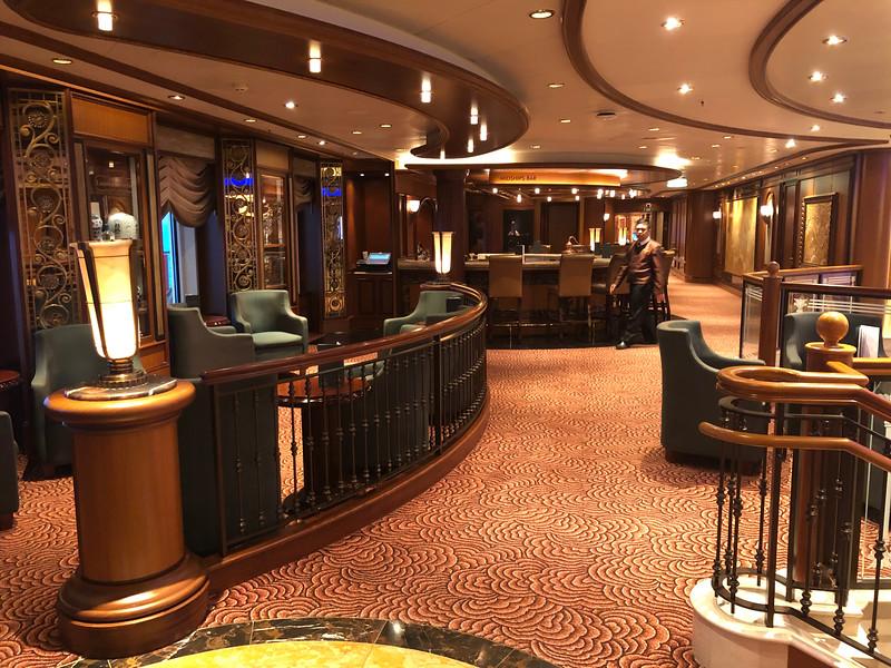 Midships bar