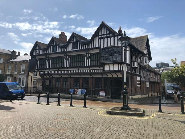 Het oude deel van Southampton