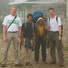 Het team op de laatste dag in de bergen