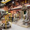 De gouden tempel in Patan