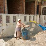 Ook vrouwen werken in de bouw