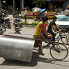 Je kunt alles op de fiets vervoeren