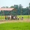 Bushalte in Chitwan