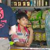 Jonge verkoper