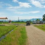 Weer op naar de bushalte, terug naar Kathmandu