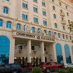 Ons hotel (voor 3 uur maar liefst) in Qatar