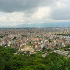 Uitzicht over Kathmandu - geen hoogbouw