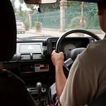 Per taxi naar Phaktapur
