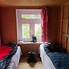 Onze hotelkamer - het is allemaal zeer primitief in de bergen.
