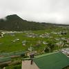 Uitzicht over Khumjung vanuit ons hotel