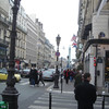 Rue du Temple met uitzicht op Place de la Republique