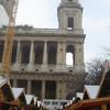 Kerk St. Sulpice met de kerstmarkt