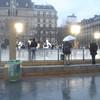 Schaatsbaan bij de Notre Dame
