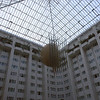 Het atrium van het hotel