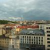Uitzicht vanuit onze hotelkamer in Praag