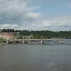 Een andere brug over de Moldau