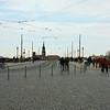 De brug over Elbe van de Altstadt naar de Neustadt