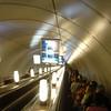Diepe metro in St Petersburg