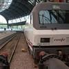 Slaaptrein naar Parijs - het eind van de trein is niet eens zichtbaar