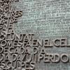 Sagrada Família; er staat Nederlands tussen