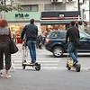 Typisch vervoersmiddel in Tel Aviv