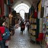 Veel, heel veel van dit soort straatjes in Oud Jeruzalem