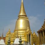 In de Wat Phra Kaeo (tempel van het paleis)